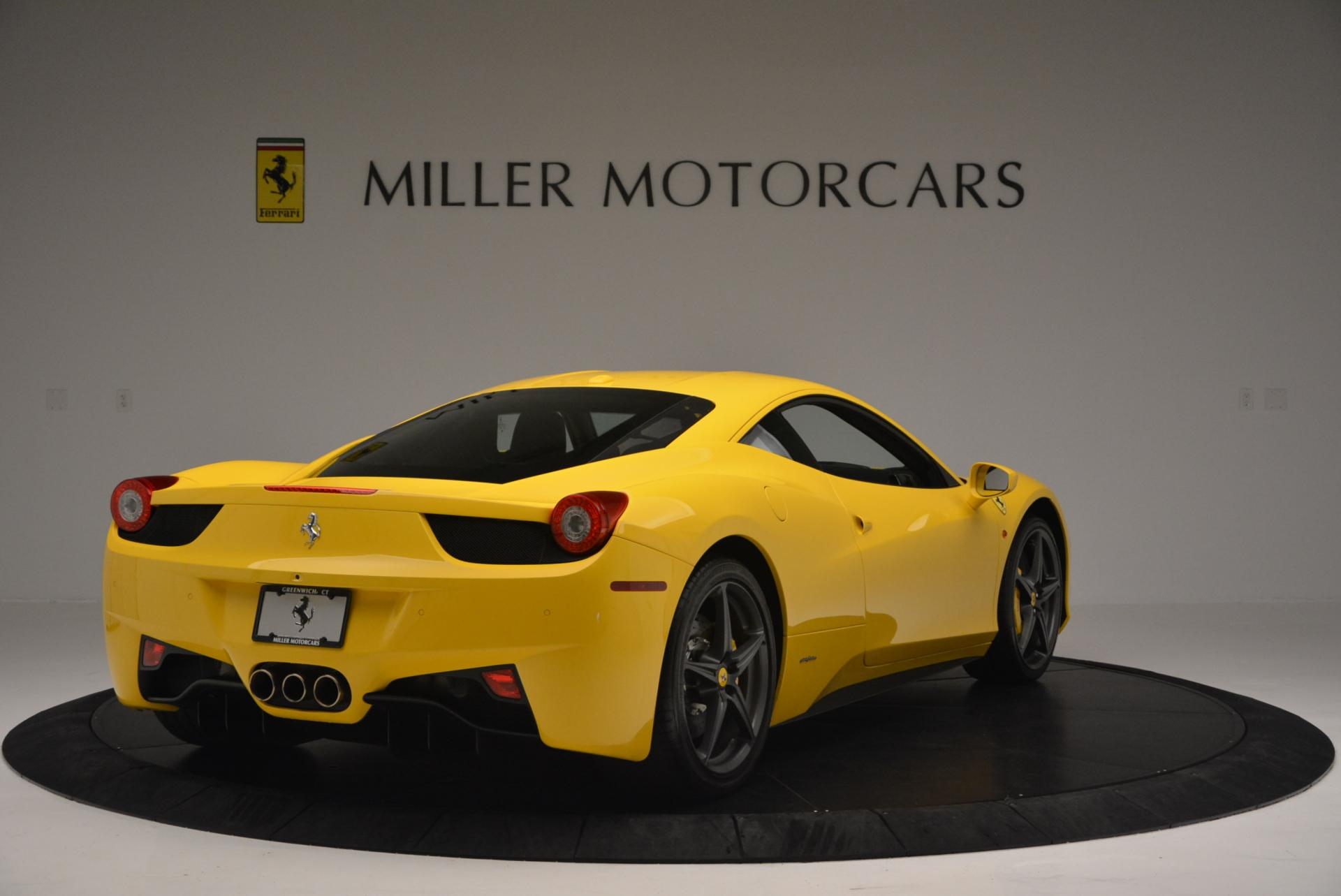 Used 2011 Ferrari 458 Italia  For Sale In Westport, CT 144_p7