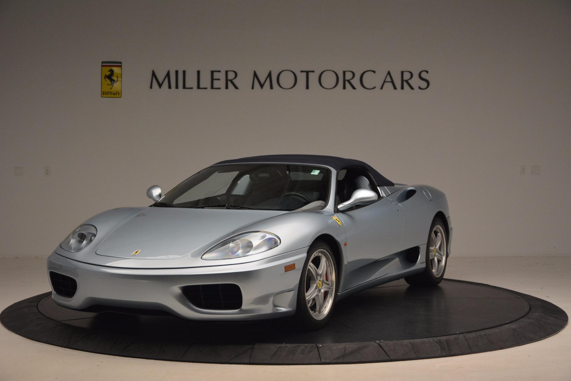 Used 2003 Ferrari 360 Spider 6-Speed Manual For Sale In Westport, CT 1445_p13