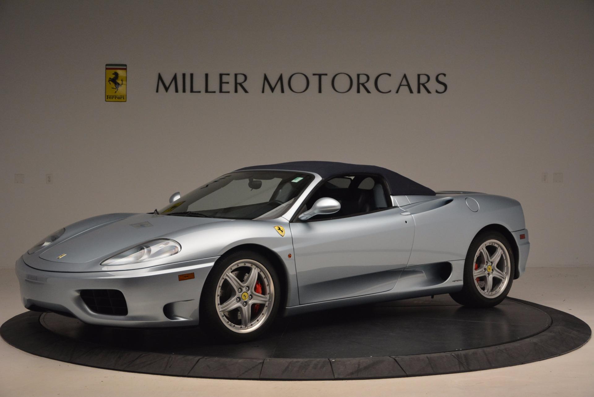 Used 2003 Ferrari 360 Spider 6-Speed Manual For Sale In Westport, CT 1445_p14