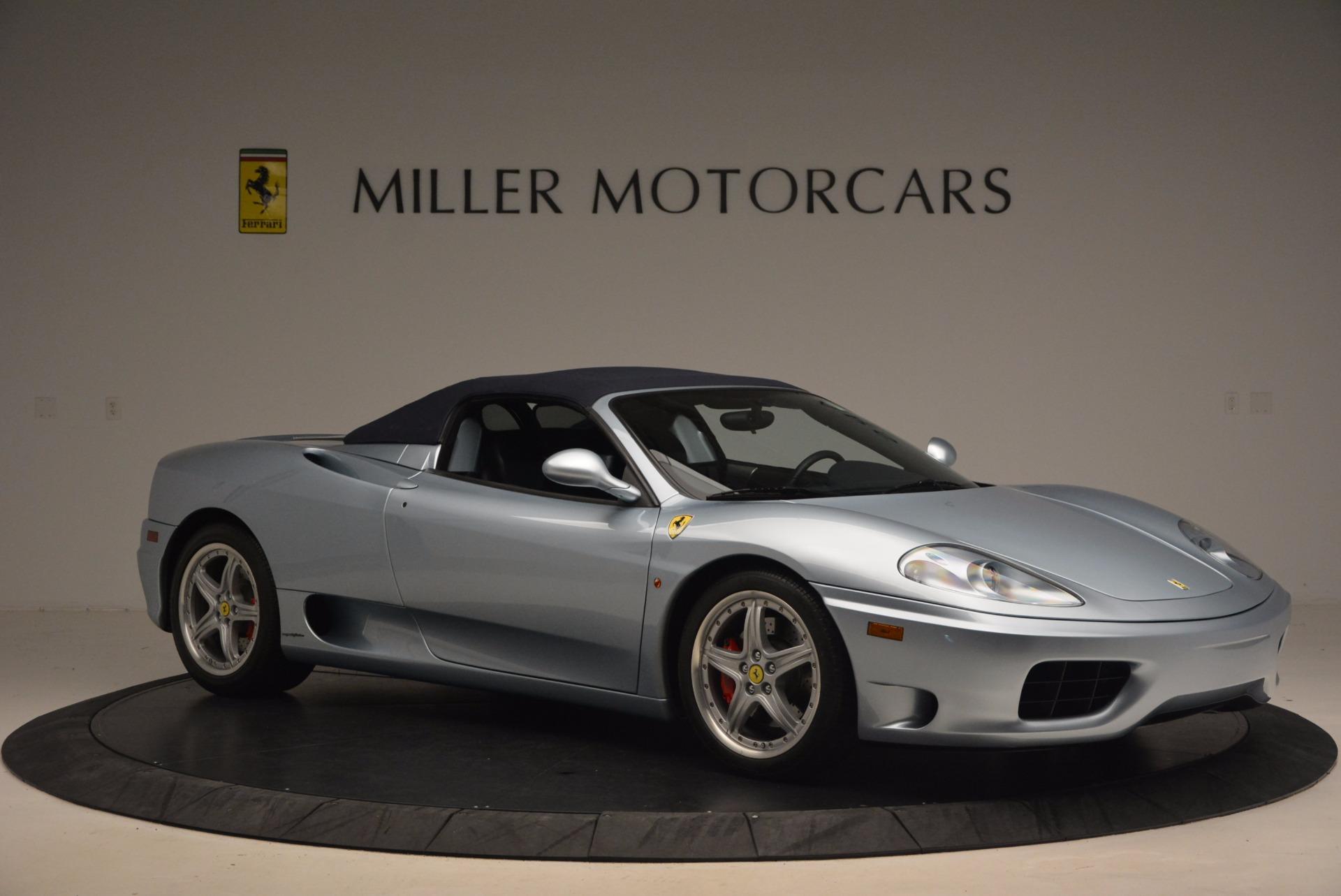 Used 2003 Ferrari 360 Spider 6-Speed Manual For Sale In Westport, CT 1445_p22