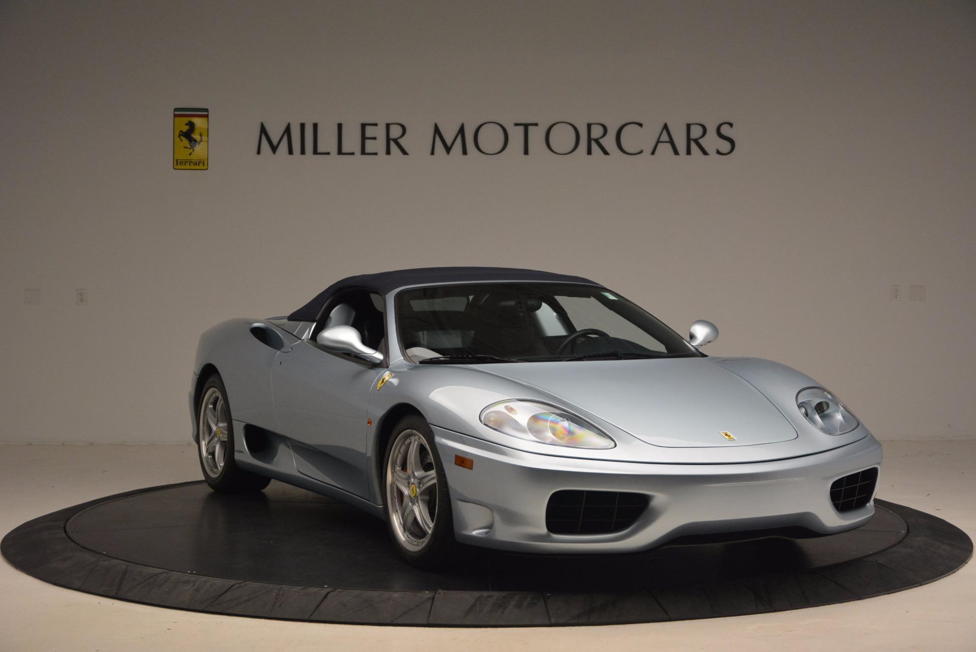 Used 2003 Ferrari 360 Spider 6-Speed Manual For Sale In Westport, CT 1445_p23