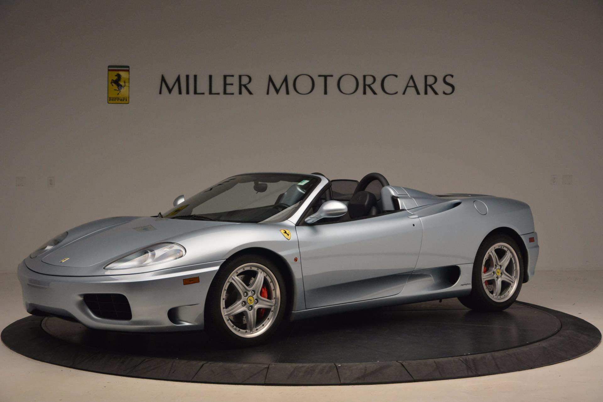 Used 2003 Ferrari 360 Spider 6-Speed Manual For Sale In Westport, CT 1445_p2