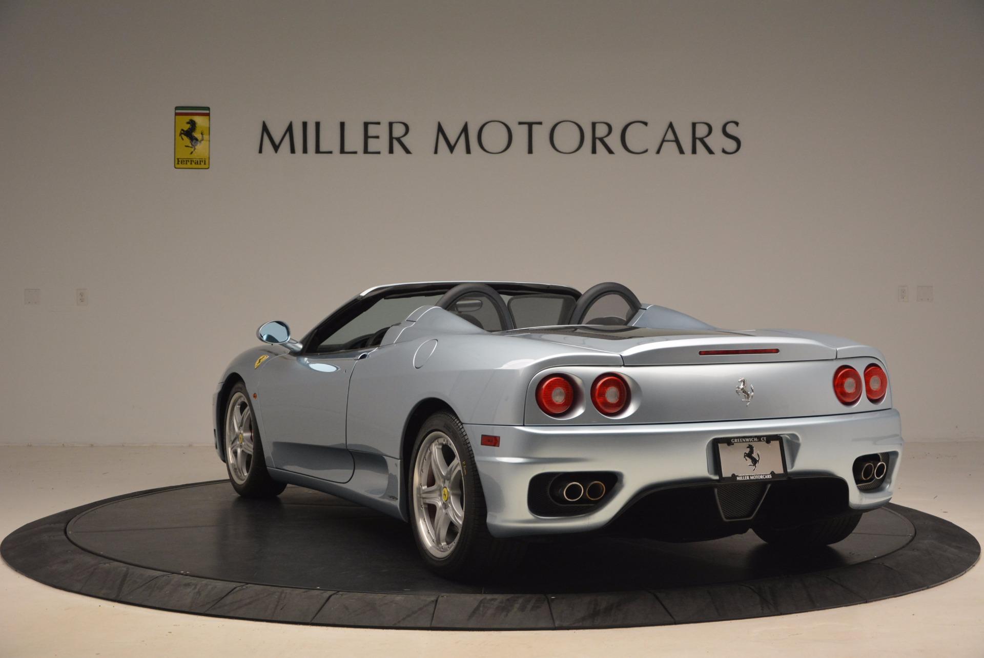 Used 2003 Ferrari 360 Spider 6-Speed Manual For Sale In Westport, CT 1445_p5