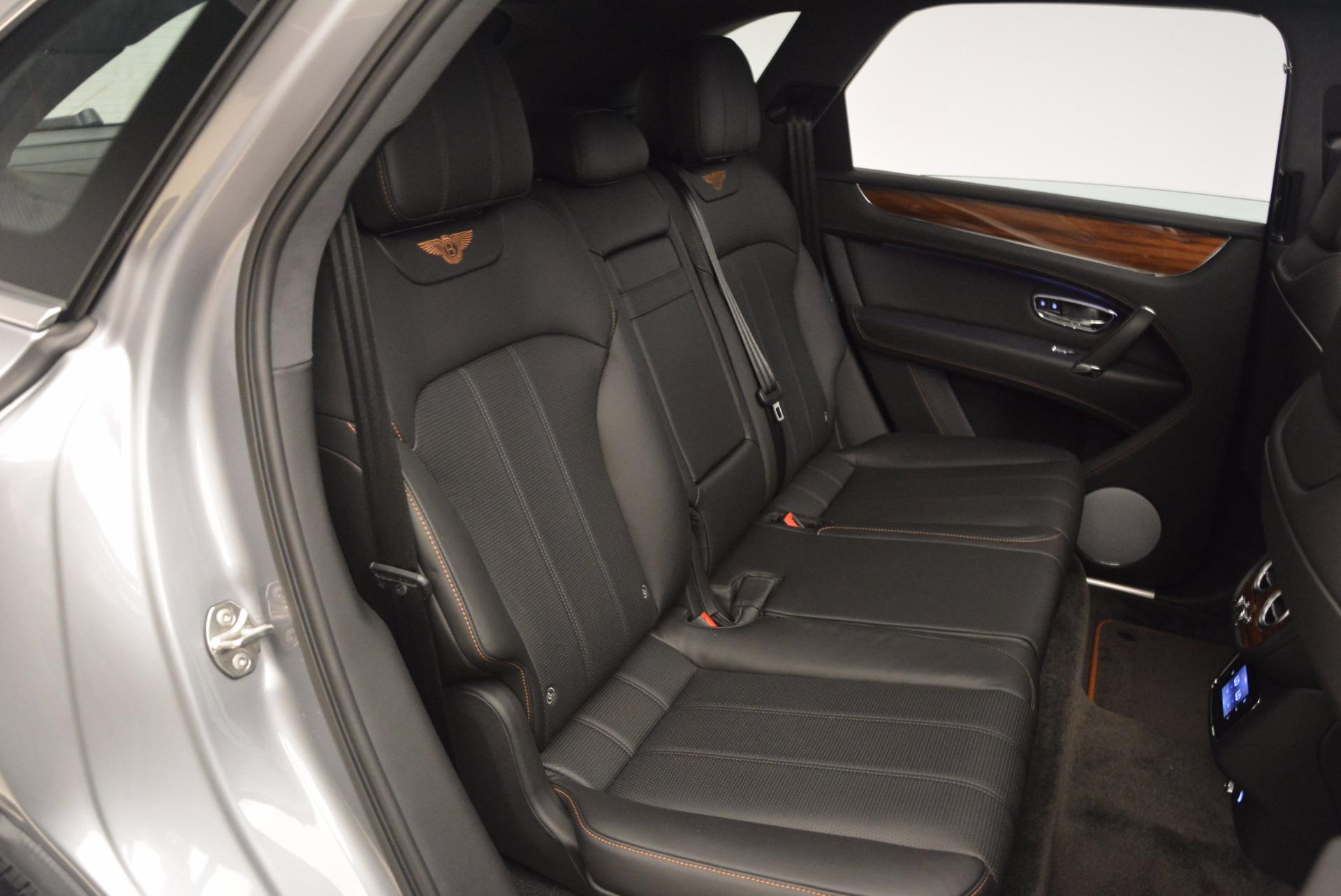 New 2018 Bentley Bentayga Onyx For Sale In Westport, CT 1446_p36