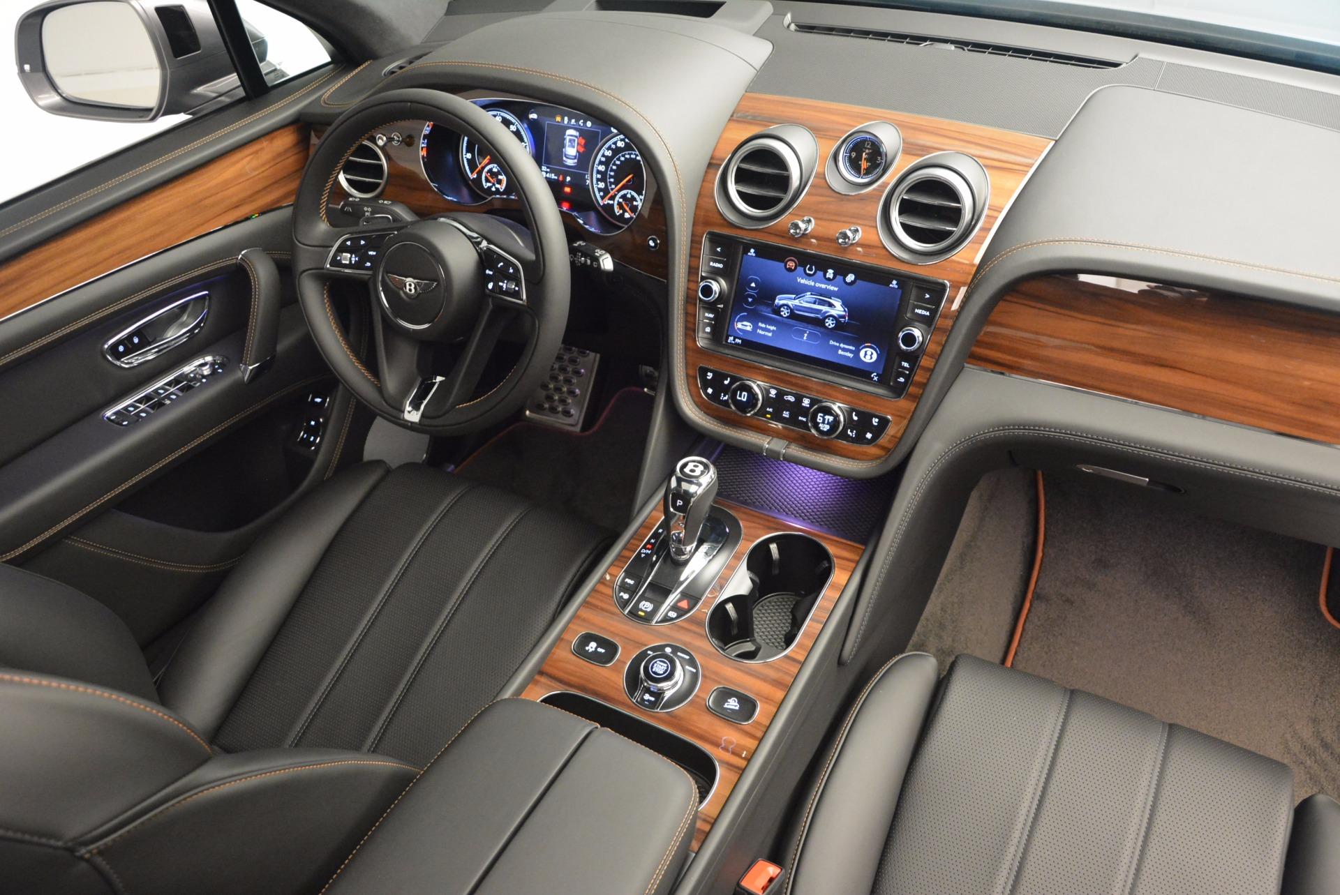 New 2018 Bentley Bentayga Onyx For Sale In Westport, CT 1446_p43