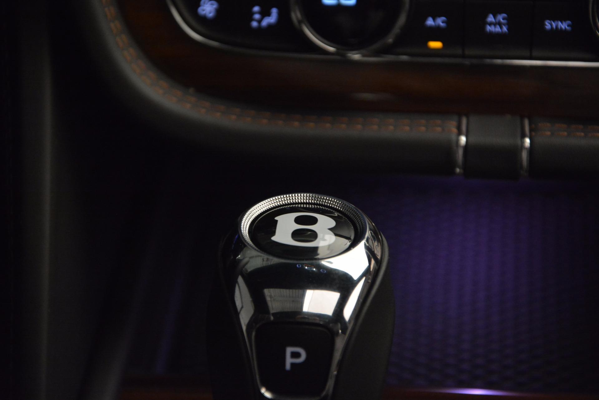 New 2018 Bentley Bentayga Onyx For Sale In Westport, CT 1446_p49