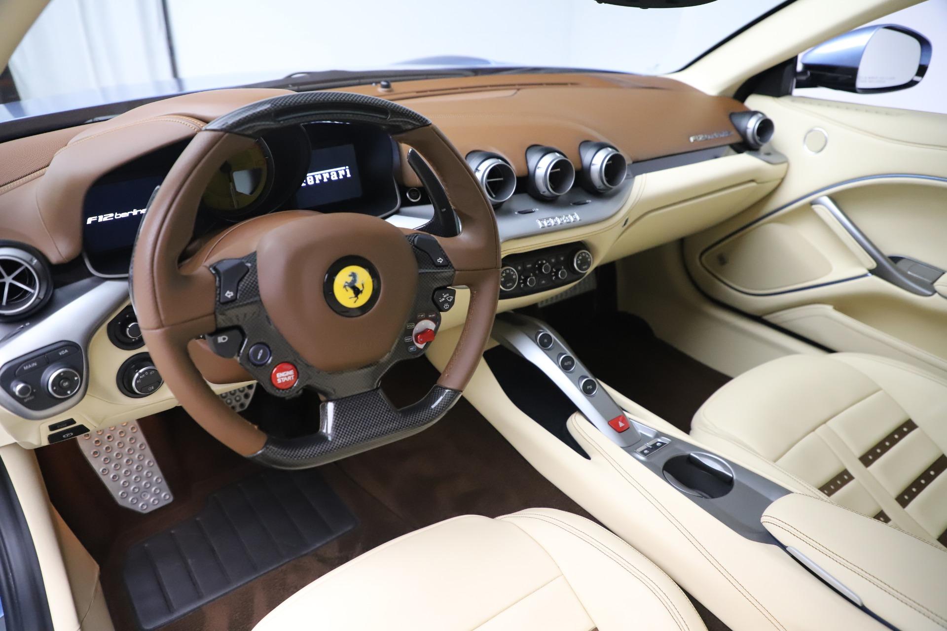 Used 2015 Ferrari F12 Berlinetta  For Sale In Westport, CT 1456_p13
