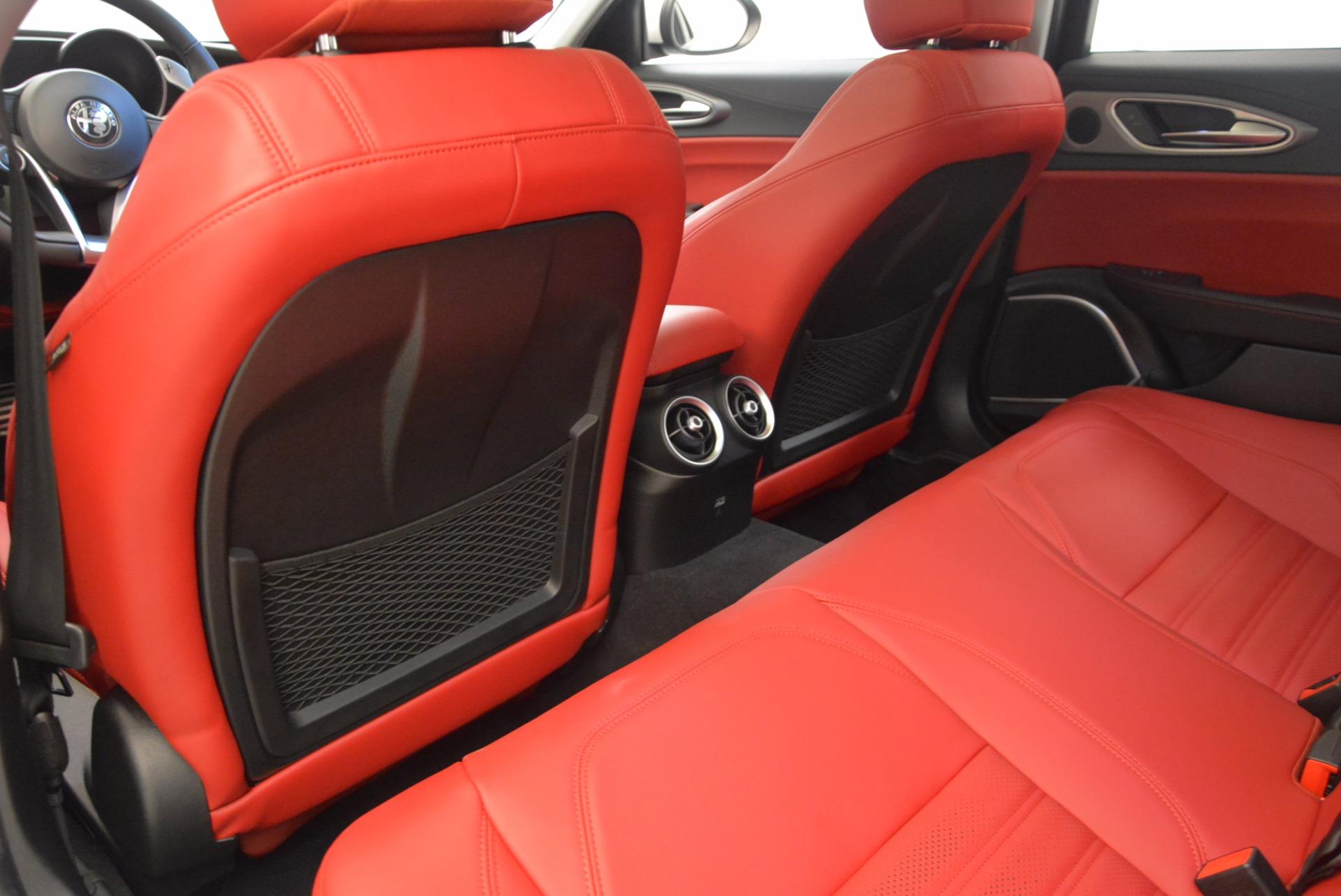 New 2017 Alfa Romeo Giulia Ti Q4 For Sale In Westport, CT 1470_p22