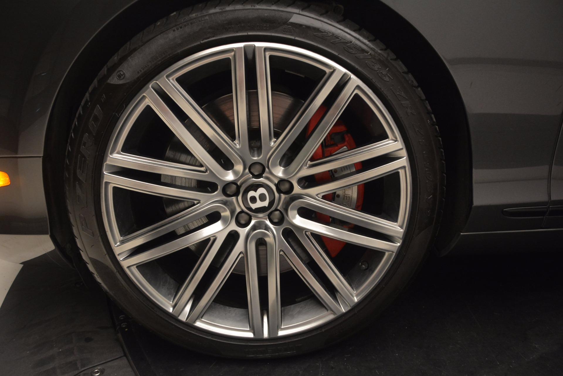 Used 2014 Bentley Continental GT Speed For Sale In Westport, CT 1473_p16