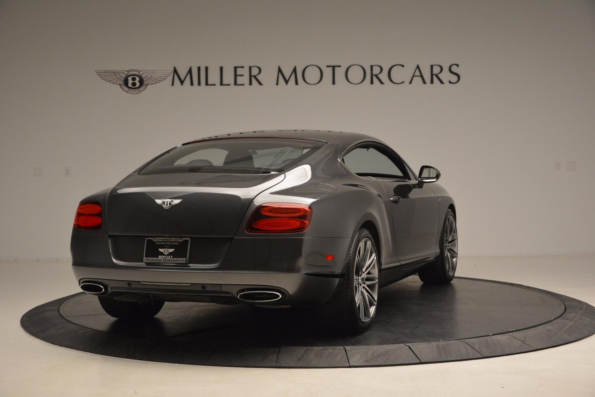 Used 2014 Bentley Continental GT Speed For Sale In Westport, CT 1473_p7