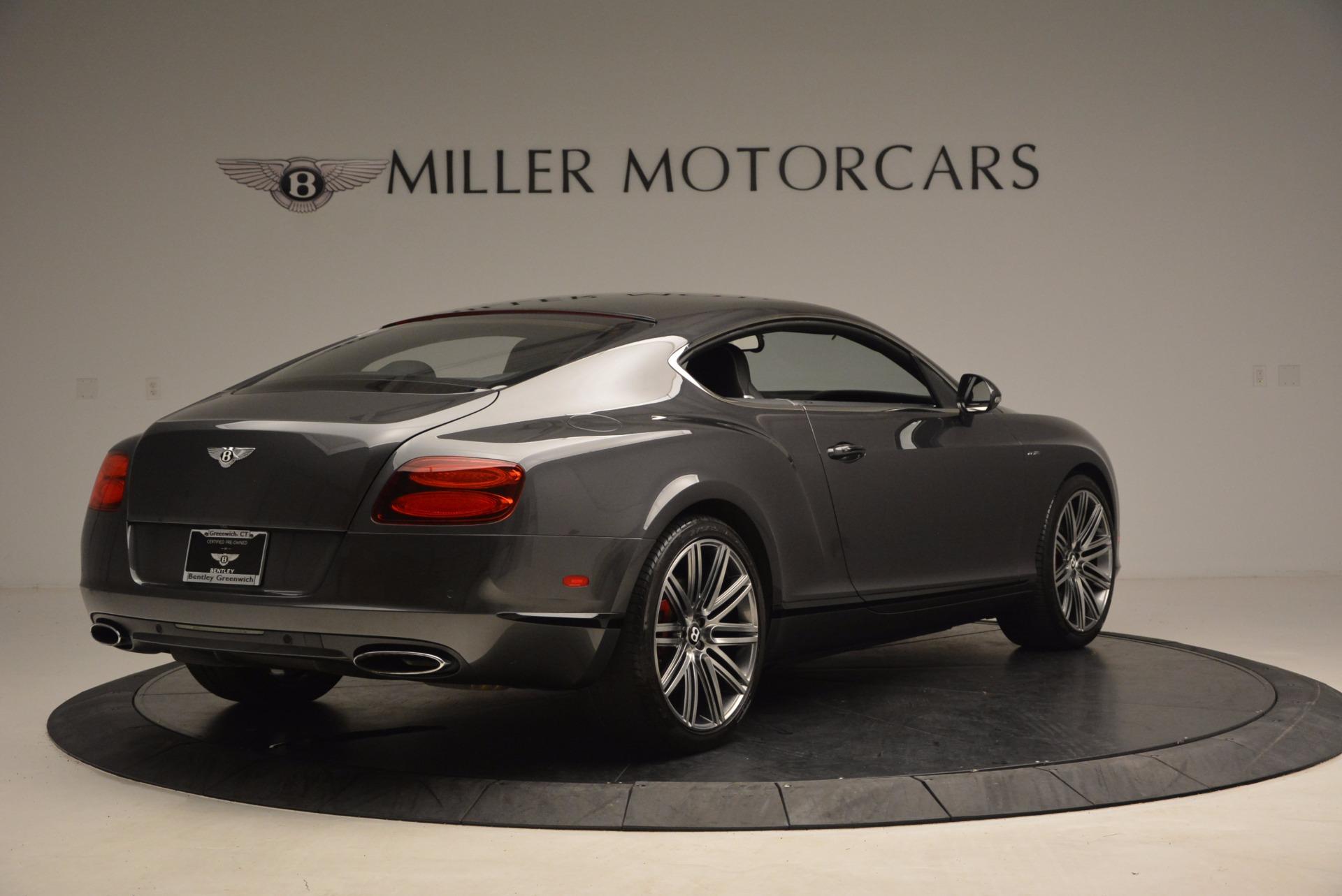 Used 2014 Bentley Continental GT Speed For Sale In Westport, CT 1473_p8