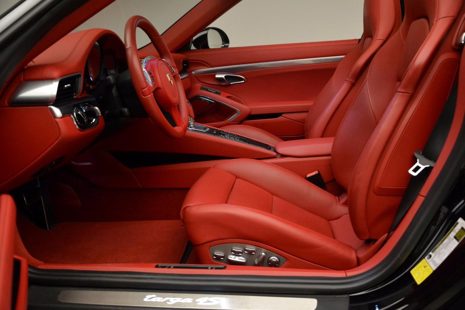Used 2015 Porsche 911 Targa 4S For Sale In Westport, CT 1476_p22