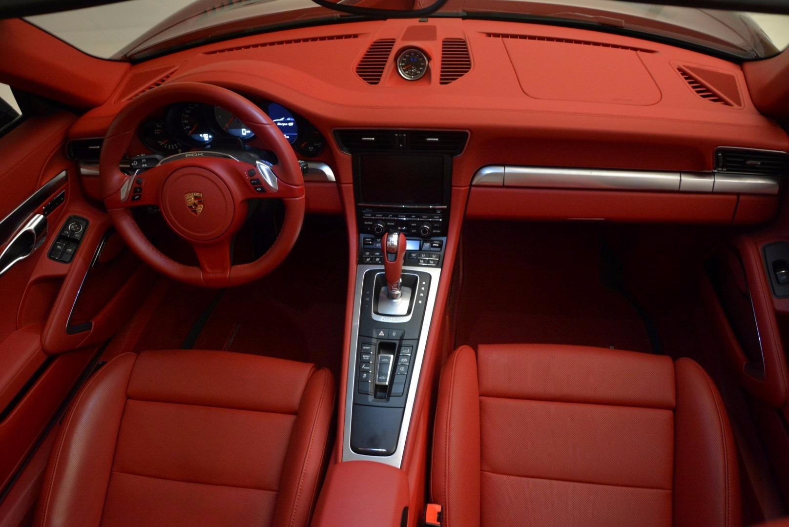 Used 2015 Porsche 911 Targa 4S For Sale In Westport, CT 1476_p24