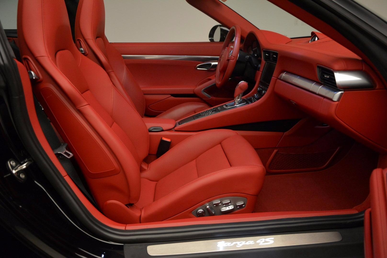 Used 2015 Porsche 911 Targa 4S For Sale In Westport, CT 1476_p26