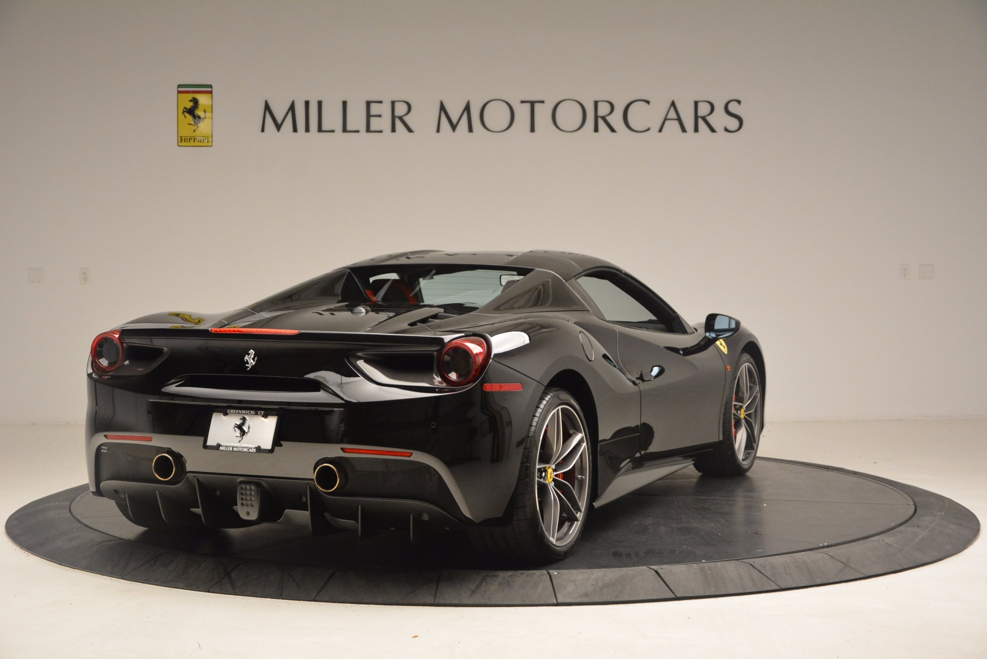 Used 2017 Ferrari 488 Spider  For Sale In Westport, CT 1479_p18