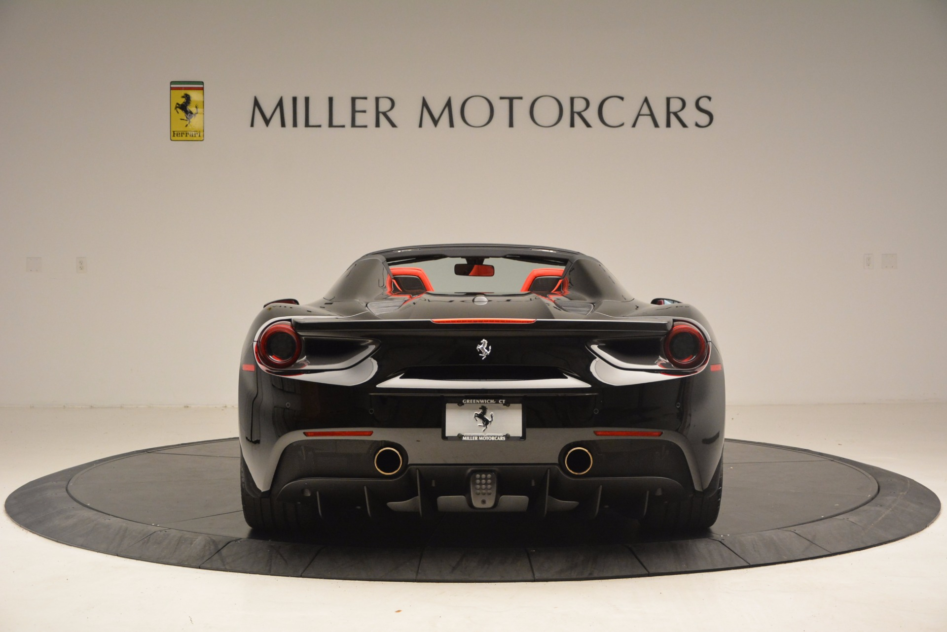 Used 2017 Ferrari 488 Spider  For Sale In Westport, CT 1479_p6