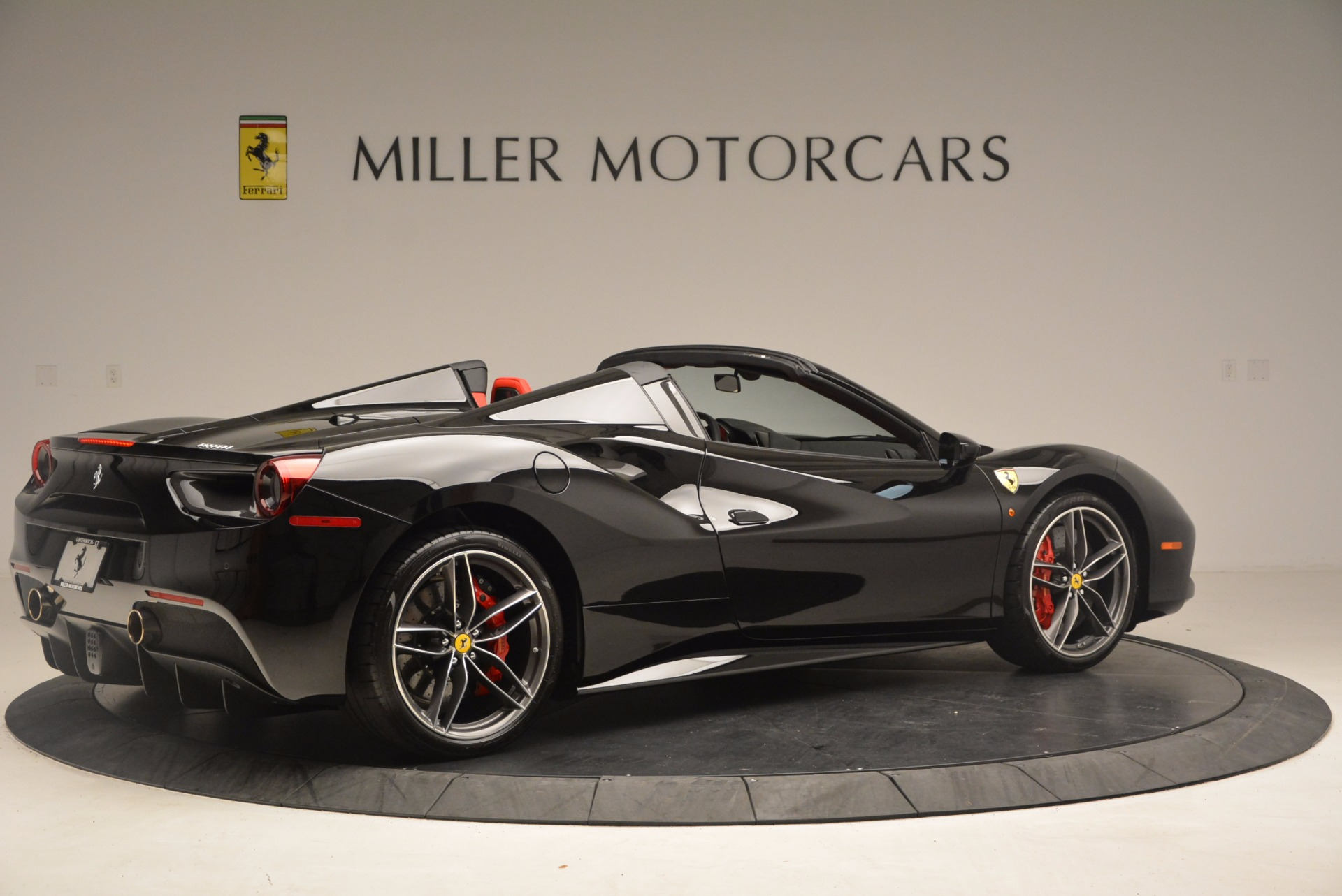 Used 2017 Ferrari 488 Spider  For Sale In Westport, CT 1479_p8