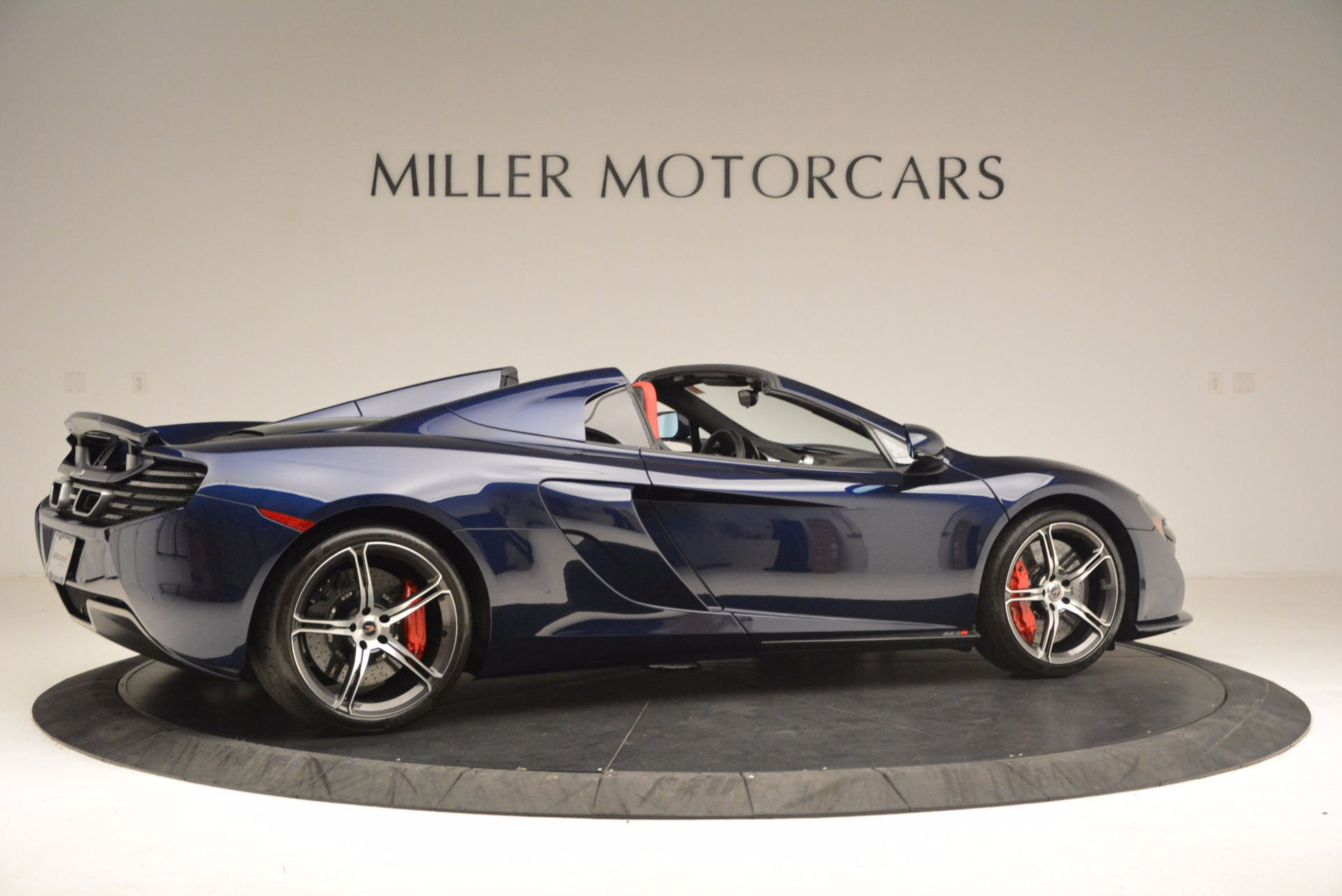 Used 2015 McLaren 650S Spider  For Sale In Westport, CT 1480_p8