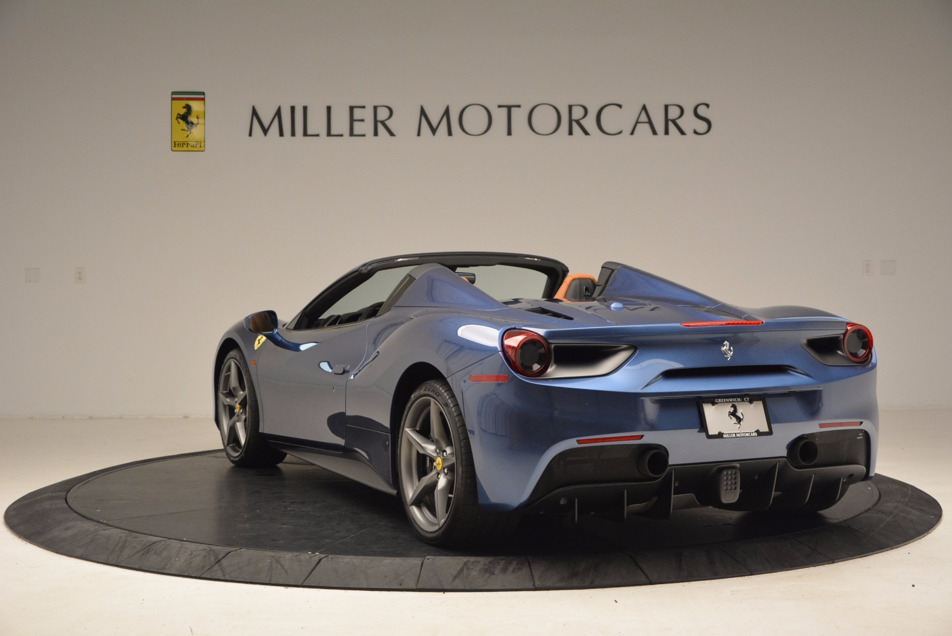 Used 2017 Ferrari 488 Spider  For Sale In Westport, CT 1489_p5
