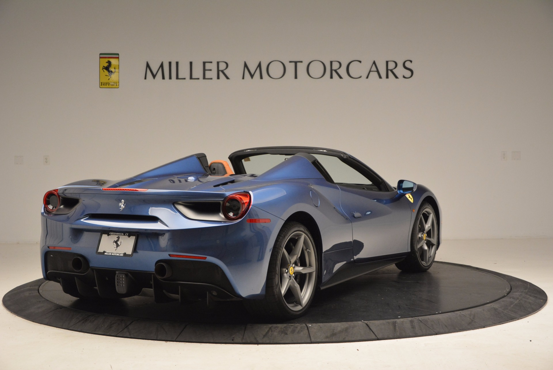 Used 2017 Ferrari 488 Spider  For Sale In Westport, CT 1489_p7