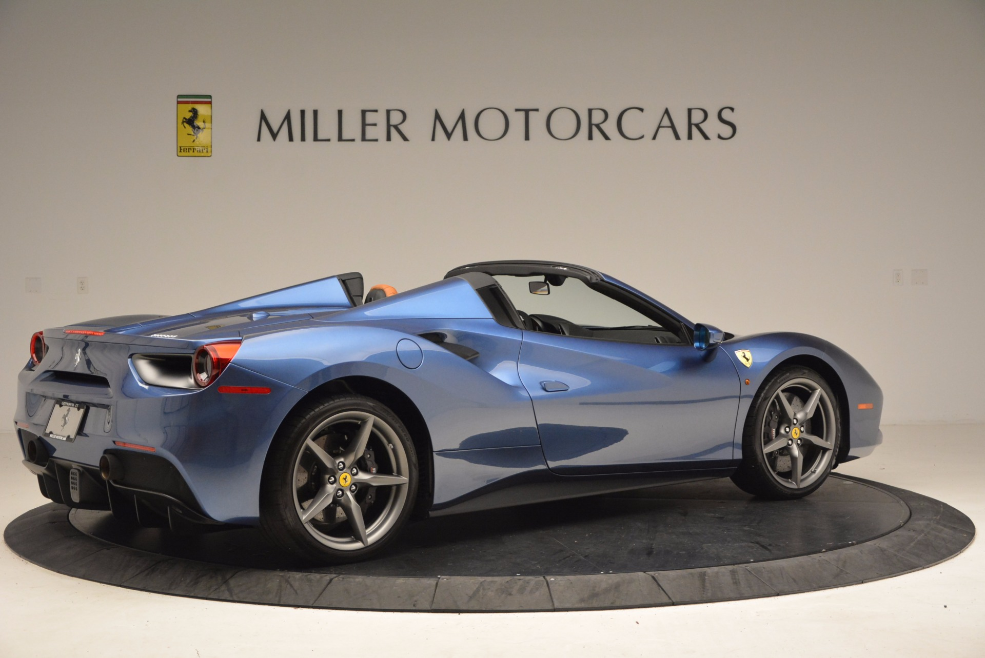 Used 2017 Ferrari 488 Spider  For Sale In Westport, CT 1489_p8