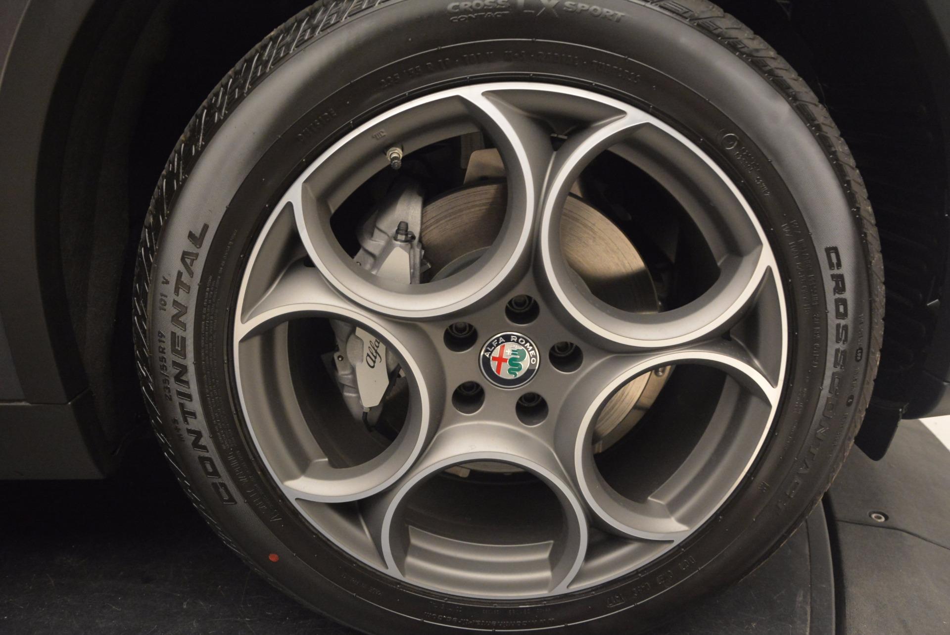 New 2018 Alfa Romeo Stelvio Q4 For Sale In Westport, CT 1492_p26