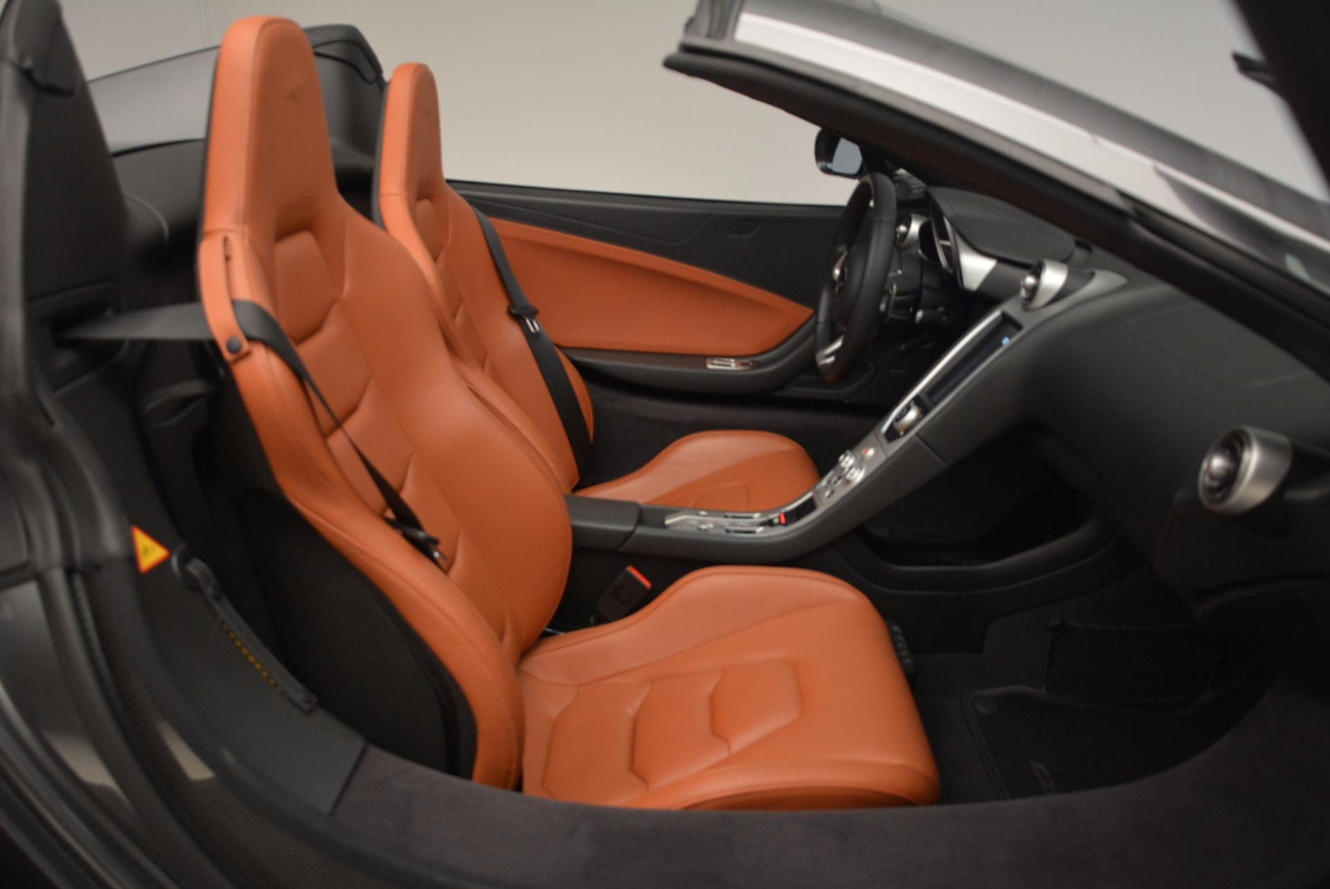 Used 2014 McLaren MP4-12C Spider  For Sale In Westport, CT 1510_p34
