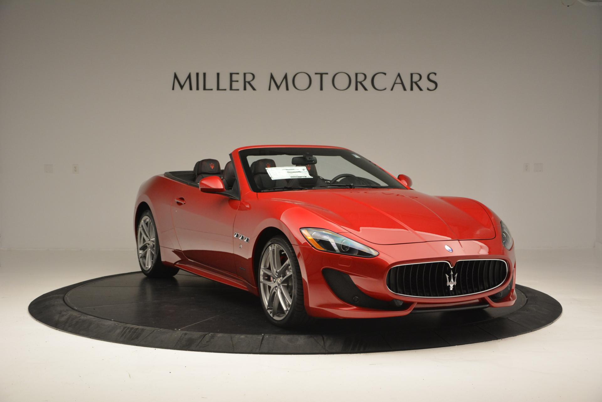 New 2017 Maserati GranTurismo Cab Sport For Sale In Westport, CT 152_p11
