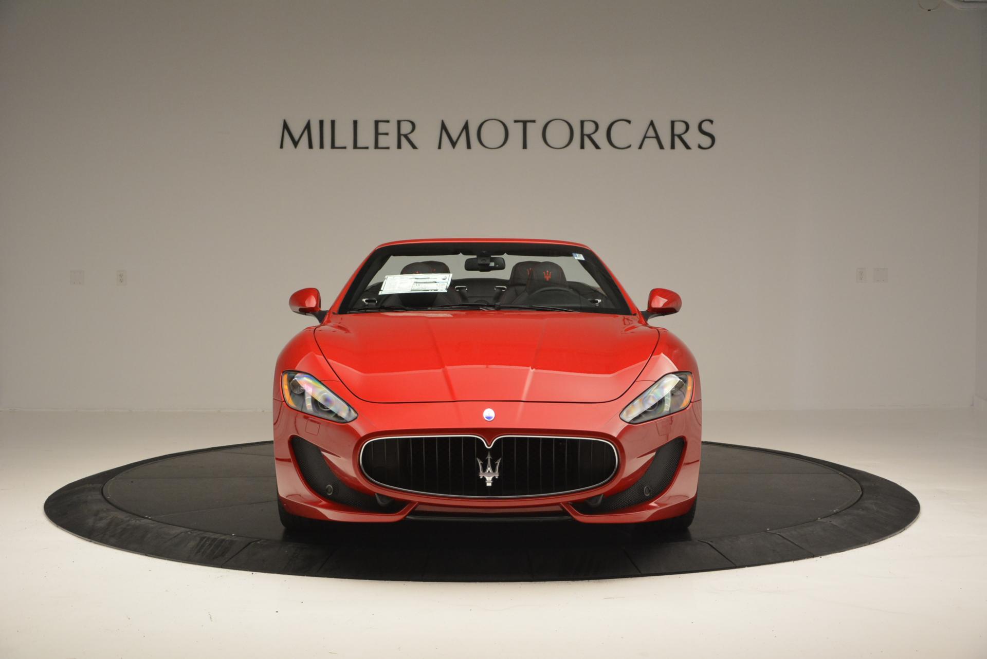 New 2017 Maserati GranTurismo Cab Sport For Sale In Westport, CT 152_p12