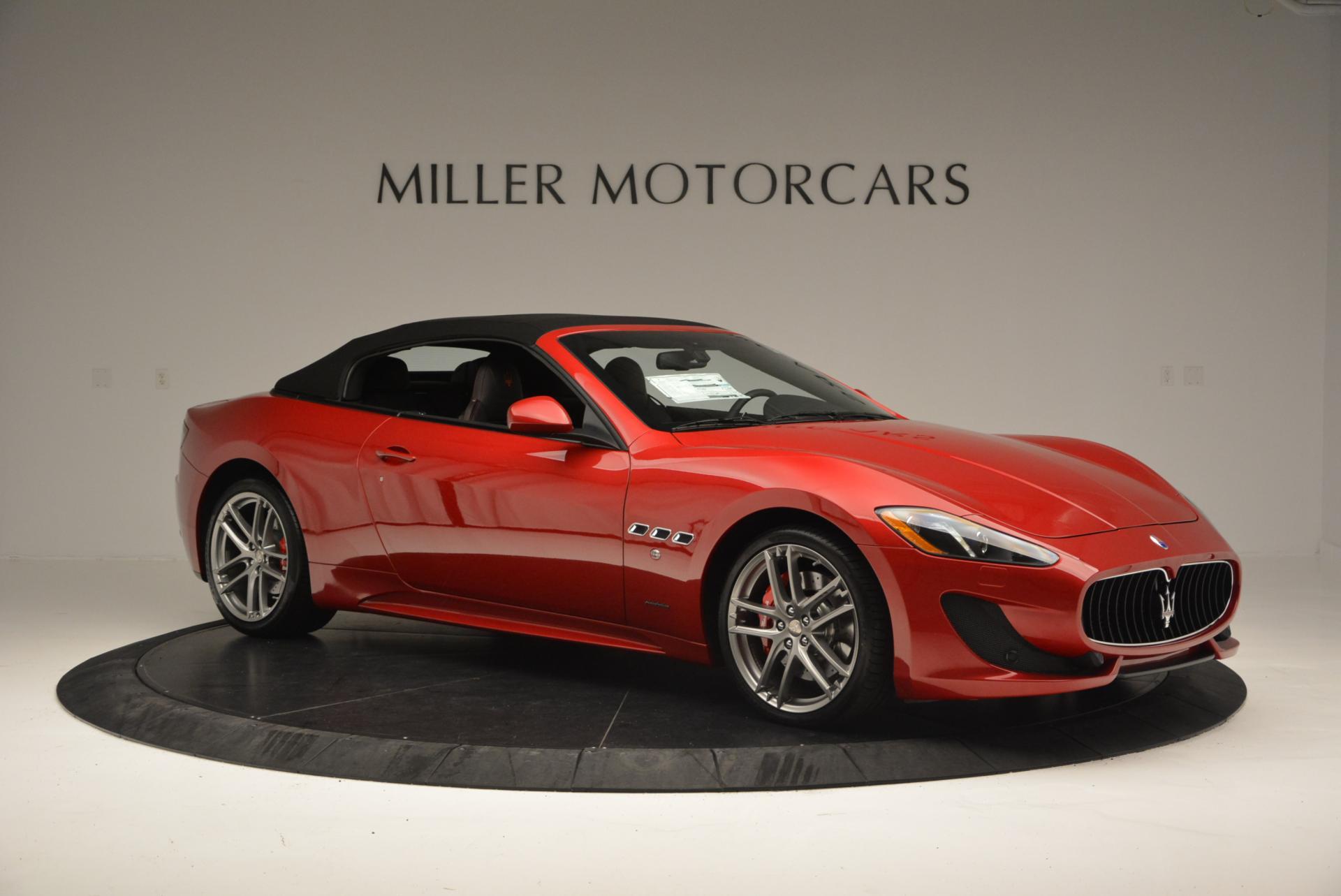 New 2017 Maserati GranTurismo Cab Sport For Sale In Westport, CT 152_p17