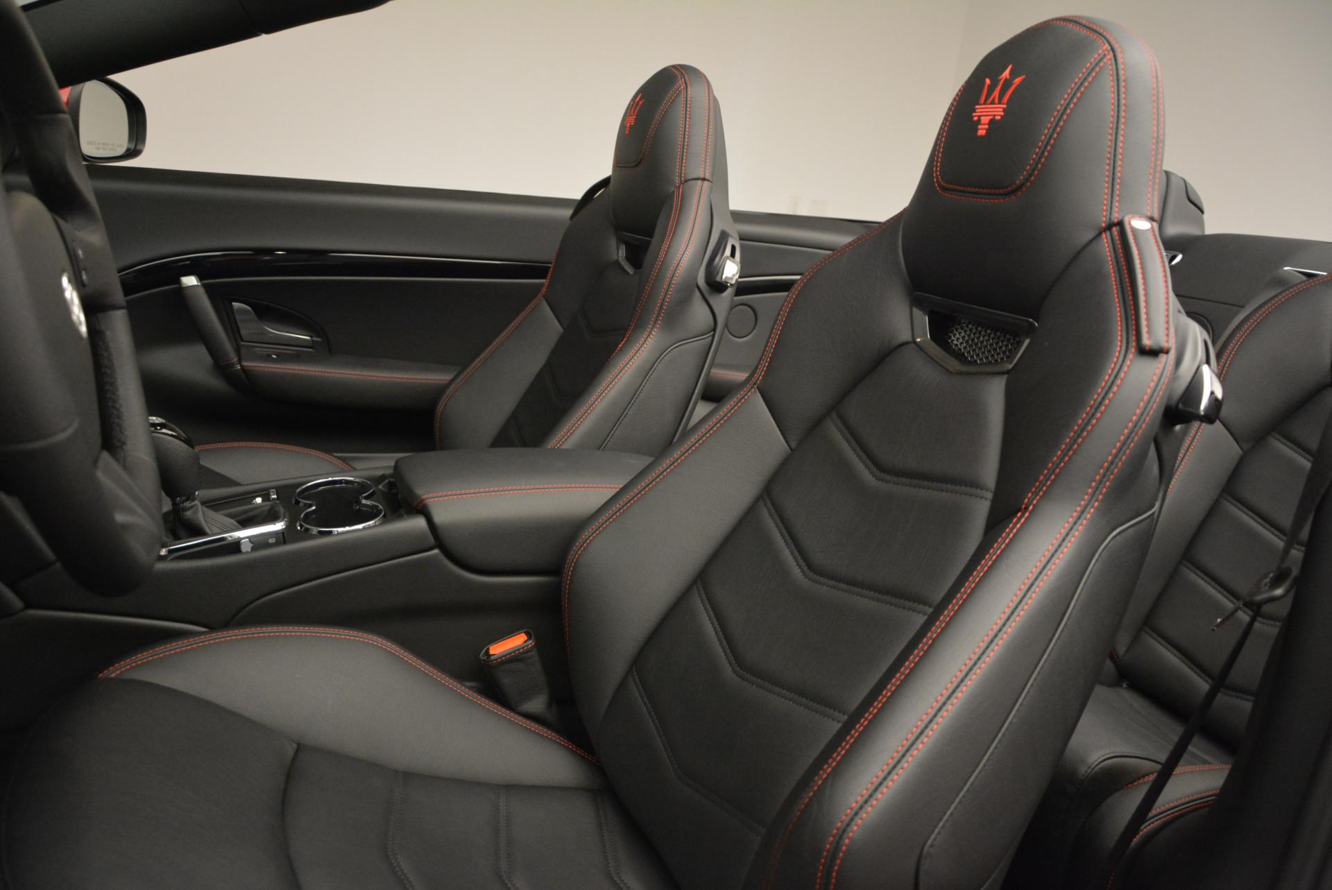 New 2017 Maserati GranTurismo Cab Sport For Sale In Westport, CT 152_p22