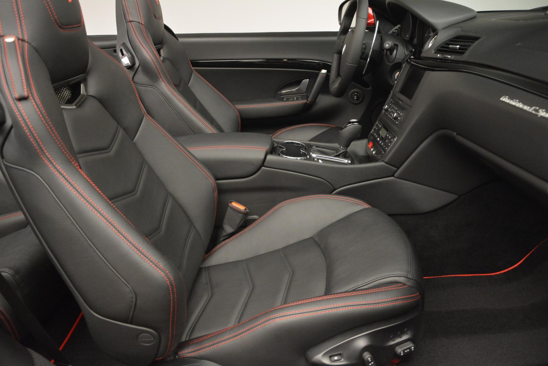 New 2017 Maserati GranTurismo Cab Sport For Sale In Westport, CT 152_p26