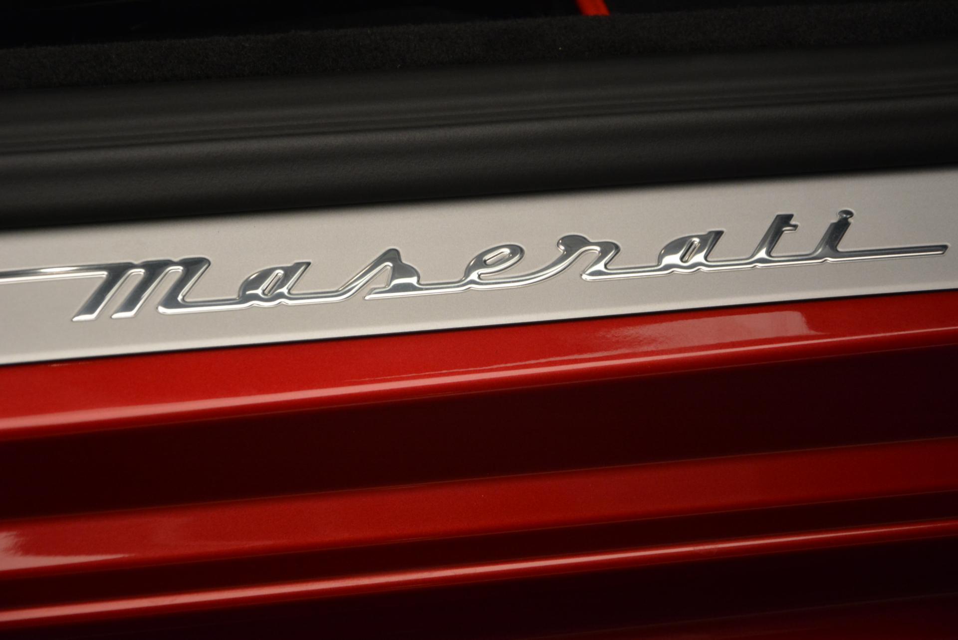New 2017 Maserati GranTurismo Cab Sport For Sale In Westport, CT 152_p28