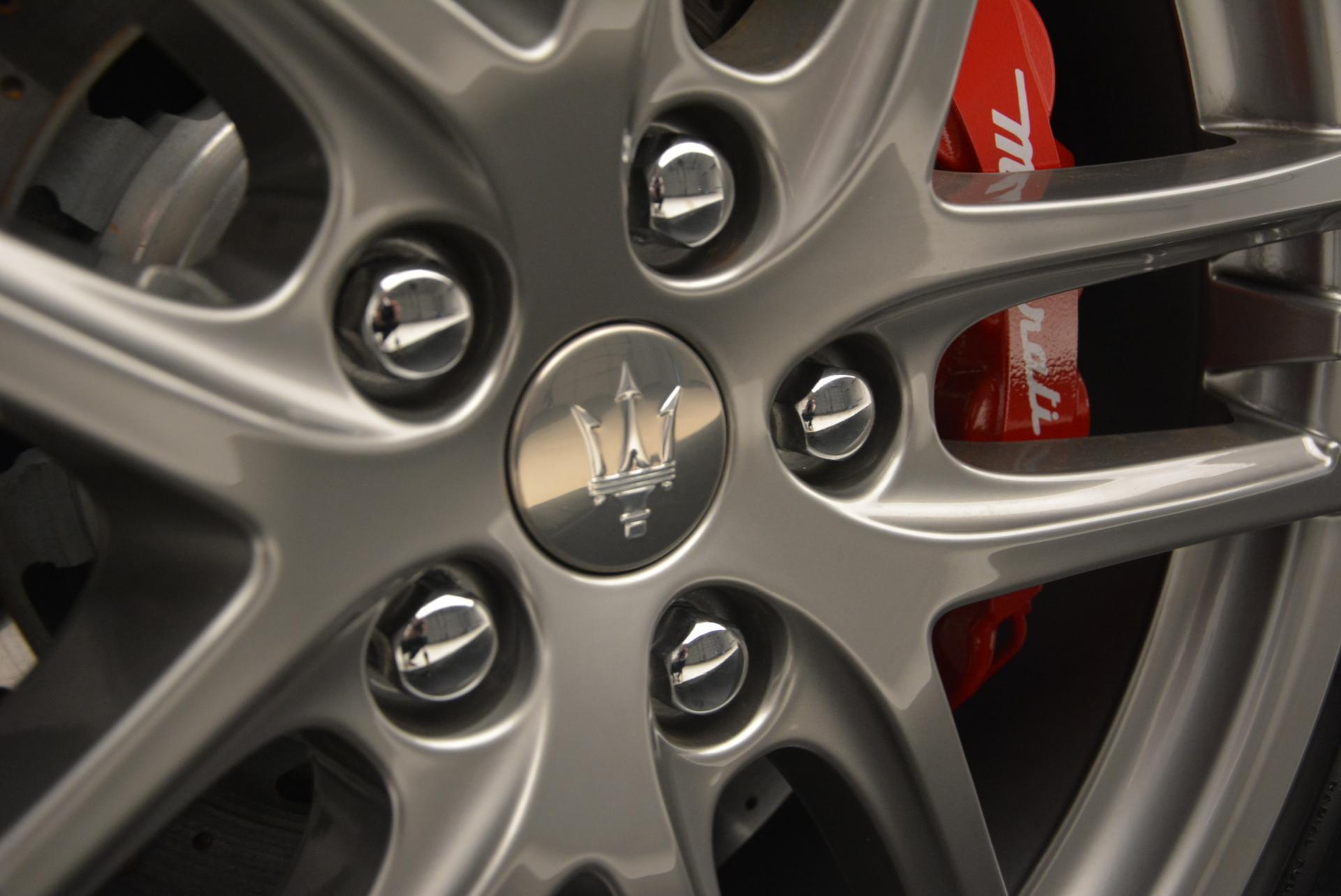 New 2017 Maserati GranTurismo Cab Sport For Sale In Westport, CT 152_p30
