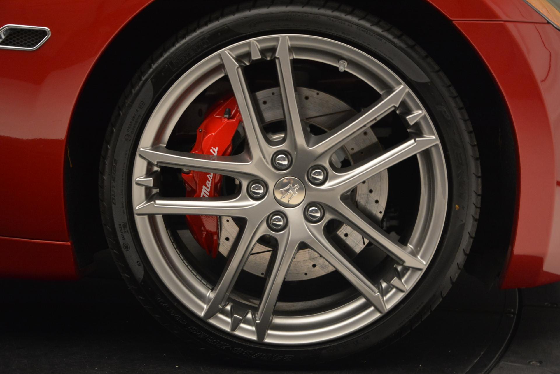 New 2017 Maserati GranTurismo Cab Sport For Sale In Westport, CT 152_p31