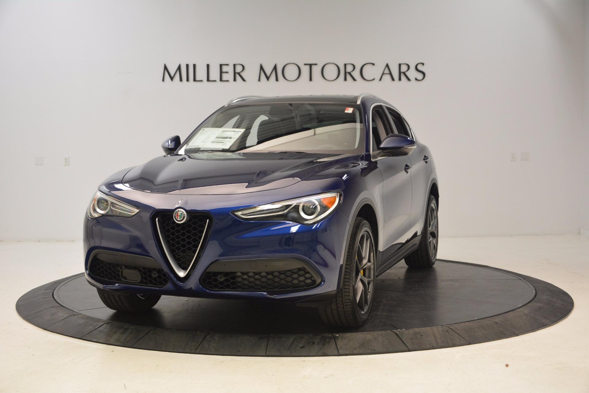 New 2018 Alfa Romeo Stelvio Ti Q4 For Sale In Westport, CT 1524_main