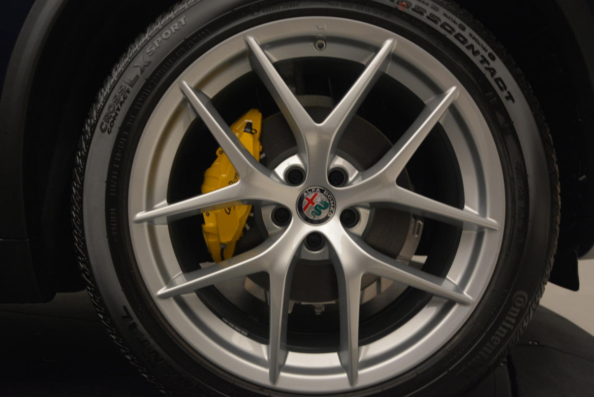 New 2018 Alfa Romeo Stelvio Ti Q4 For Sale In Westport, CT 1527_p25