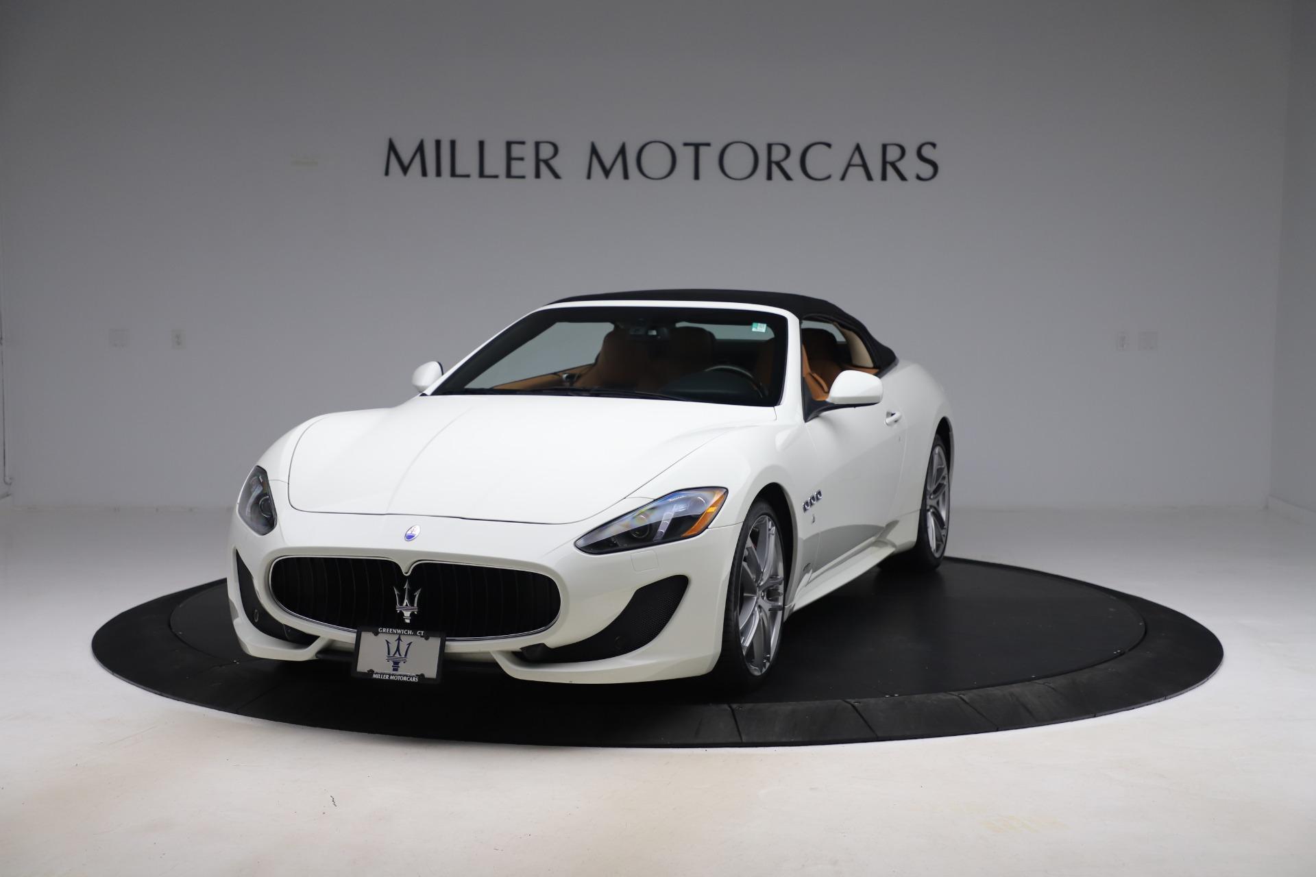 New 2017 Maserati GranTurismo Convertible Sport For Sale In Westport, CT 153_p13
