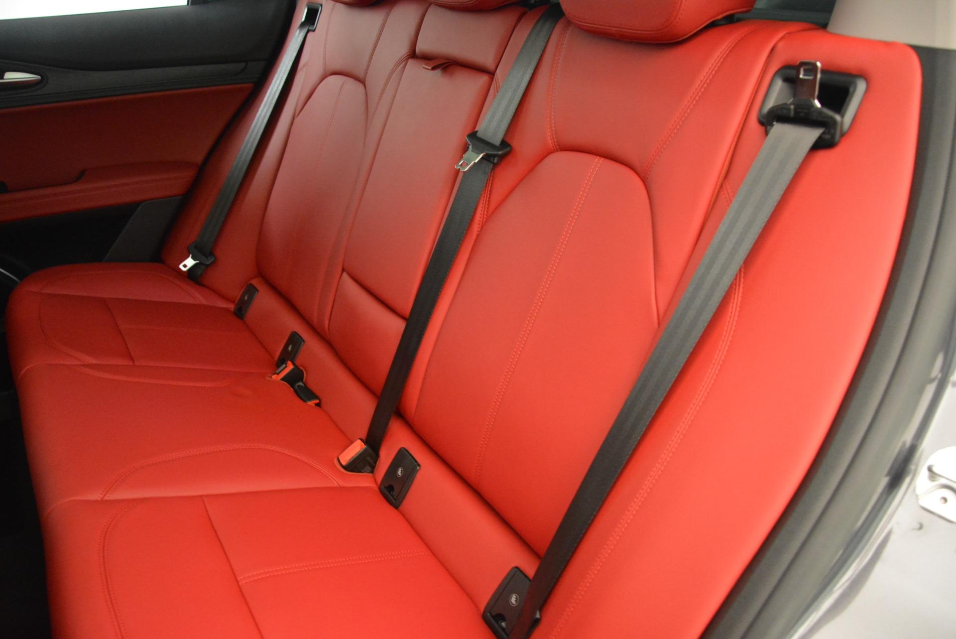 New 2018 Alfa Romeo Stelvio Q4 For Sale In Westport, CT 1531_p18