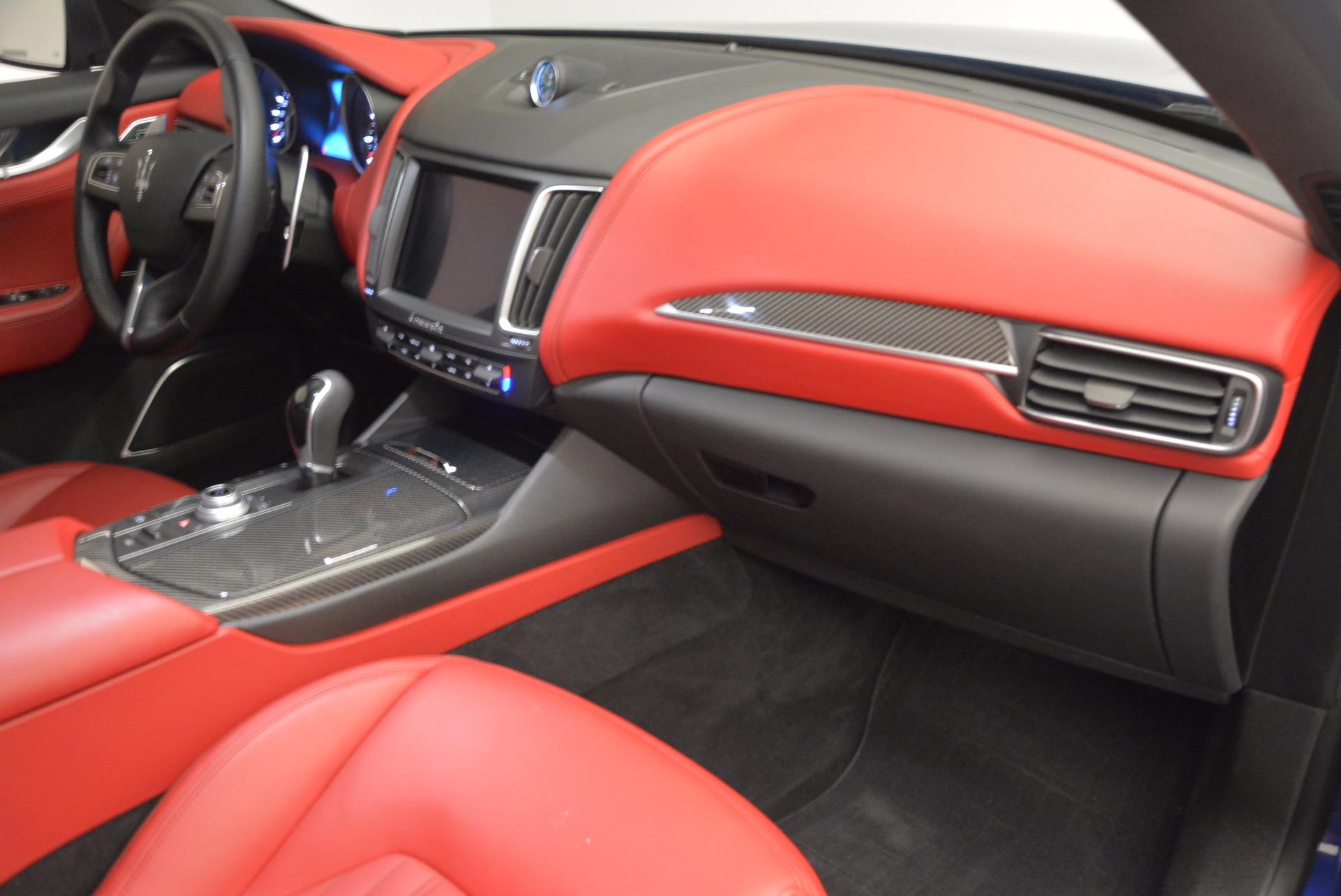 Used 2017 Maserati Levante S Q4 For Sale In Westport, CT 1533_p23