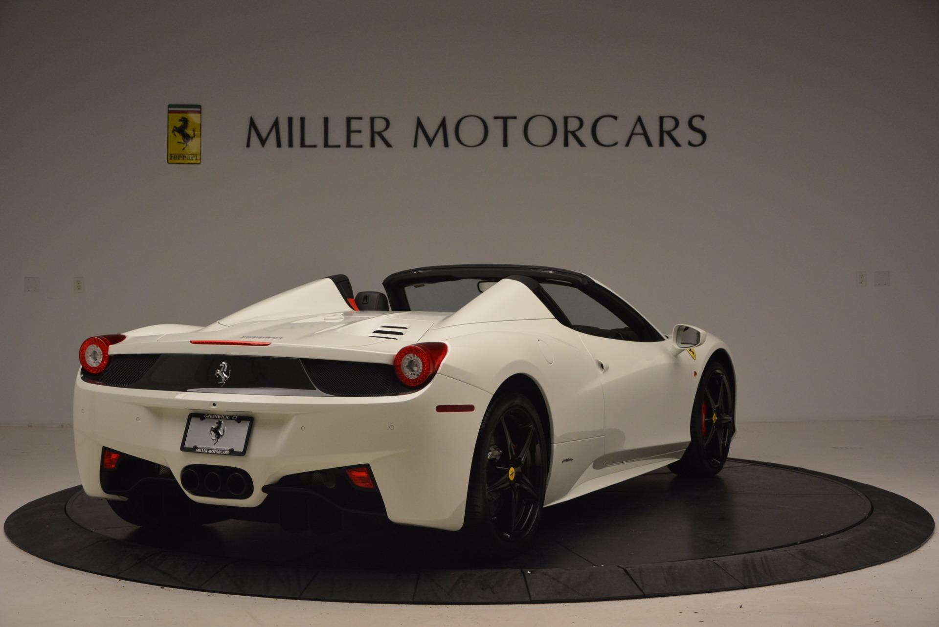Used 2015 Ferrari 458 Spider  For Sale In Westport, CT 1534_p7