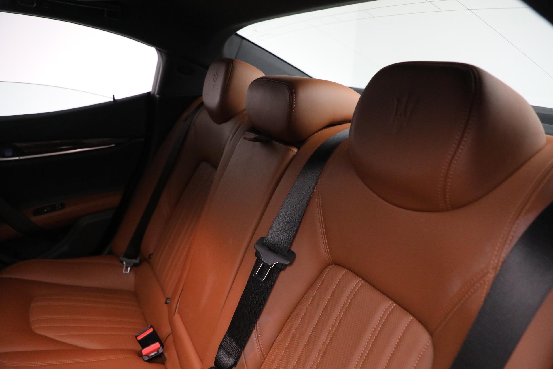 New 2018 Maserati Ghibli S Q4 GranLusso For Sale In Westport, CT 1539_p17