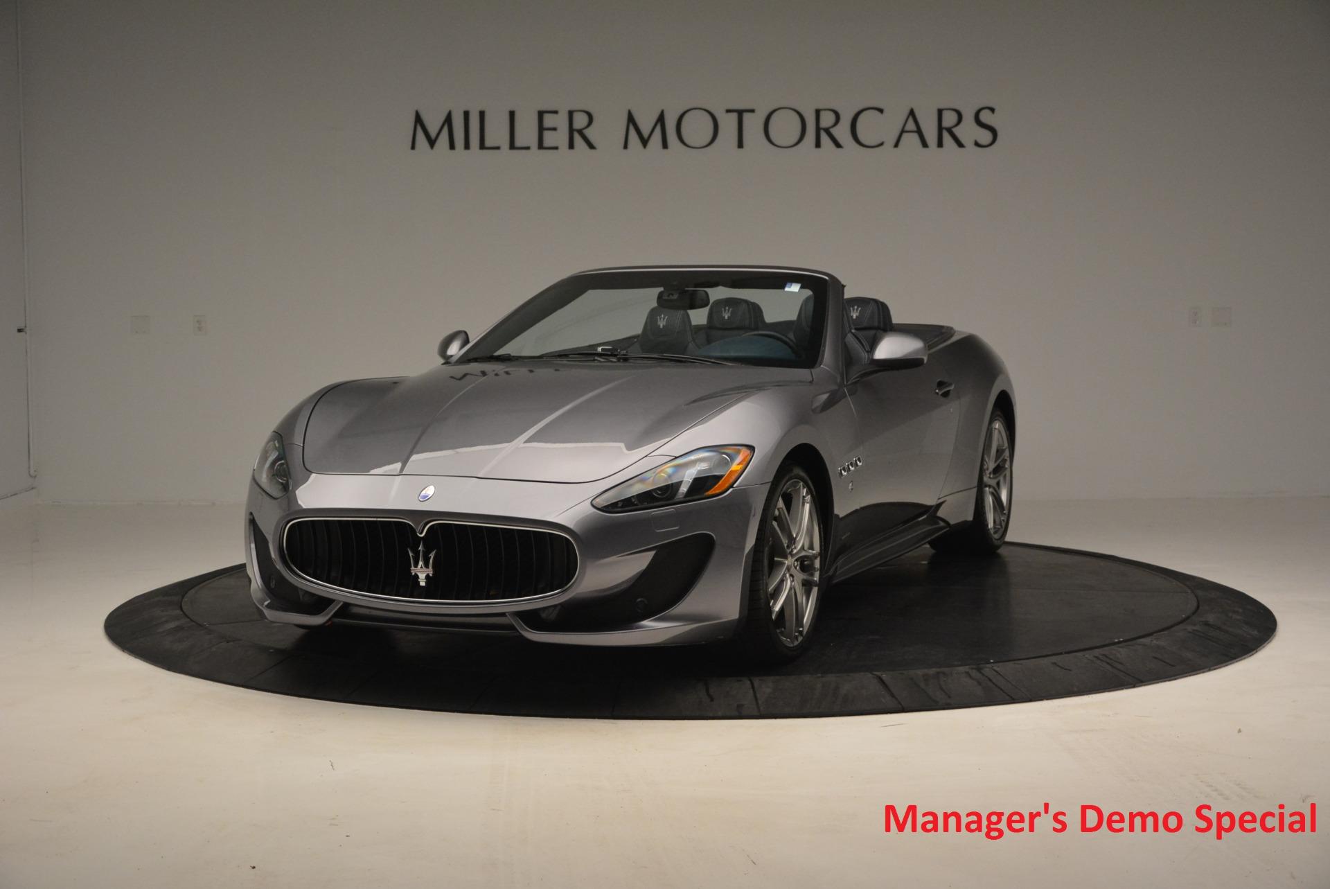 New 2016 Maserati GranTurismo Convertible Sport For Sale In Westport, CT 154_main