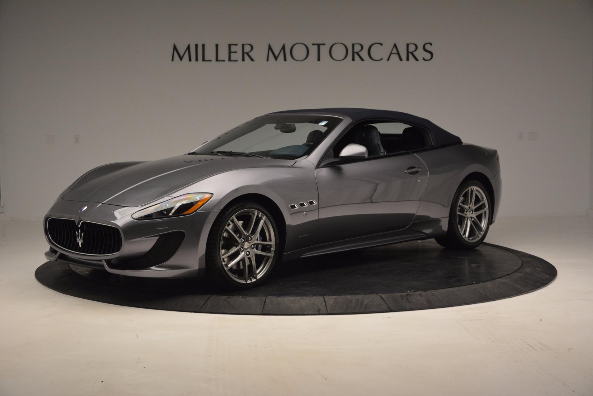New 2016 Maserati GranTurismo Convertible Sport For Sale In Westport, CT 154_p11
