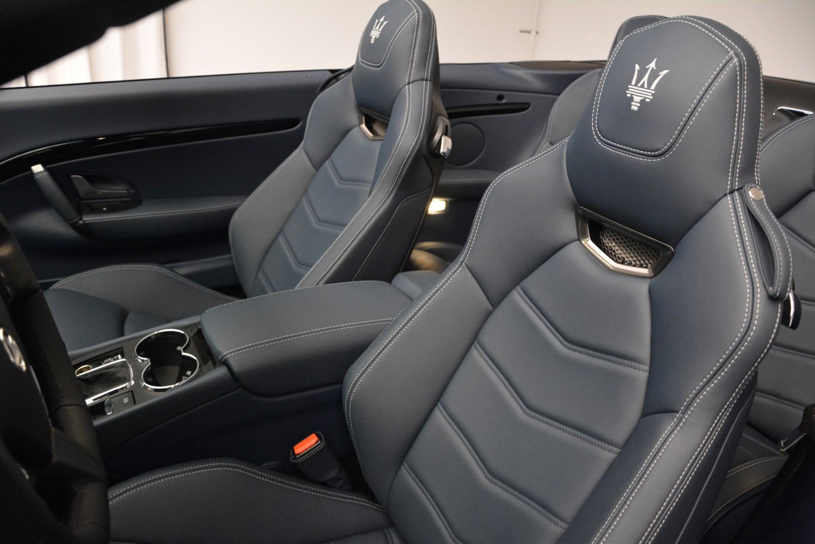 New 2016 Maserati GranTurismo Convertible Sport For Sale In Westport, CT 154_p22