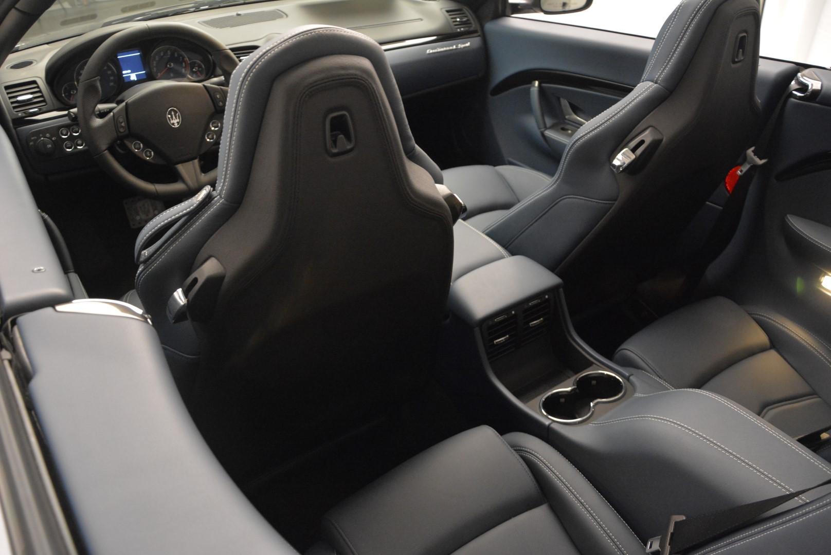 New 2016 Maserati GranTurismo Convertible Sport For Sale In Westport, CT 154_p23