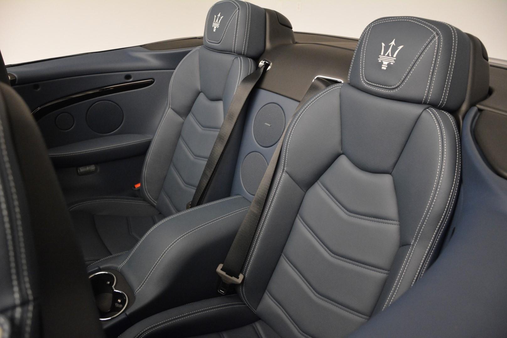 New 2016 Maserati GranTurismo Convertible Sport For Sale In Westport, CT 154_p26