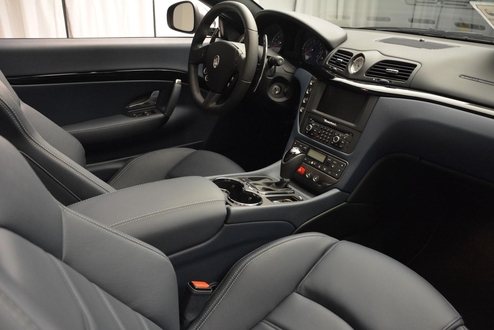 New 2016 Maserati GranTurismo Convertible Sport For Sale In Westport, CT 154_p27