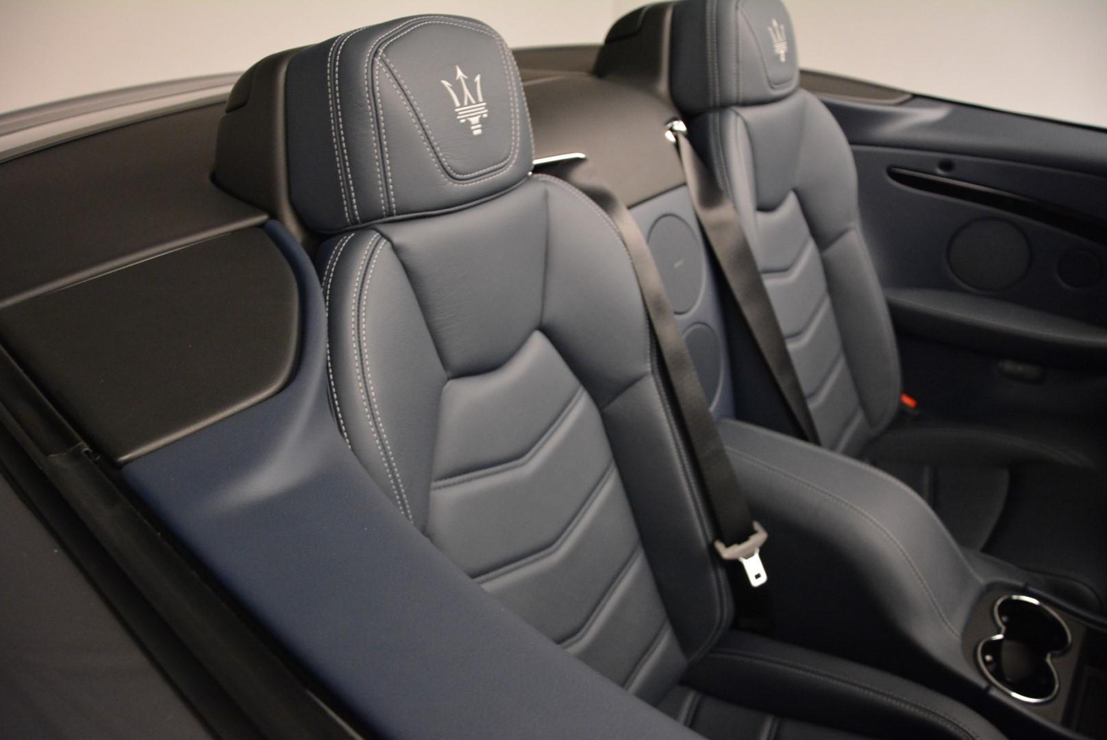 New 2016 Maserati GranTurismo Convertible Sport For Sale In Westport, CT 154_p31