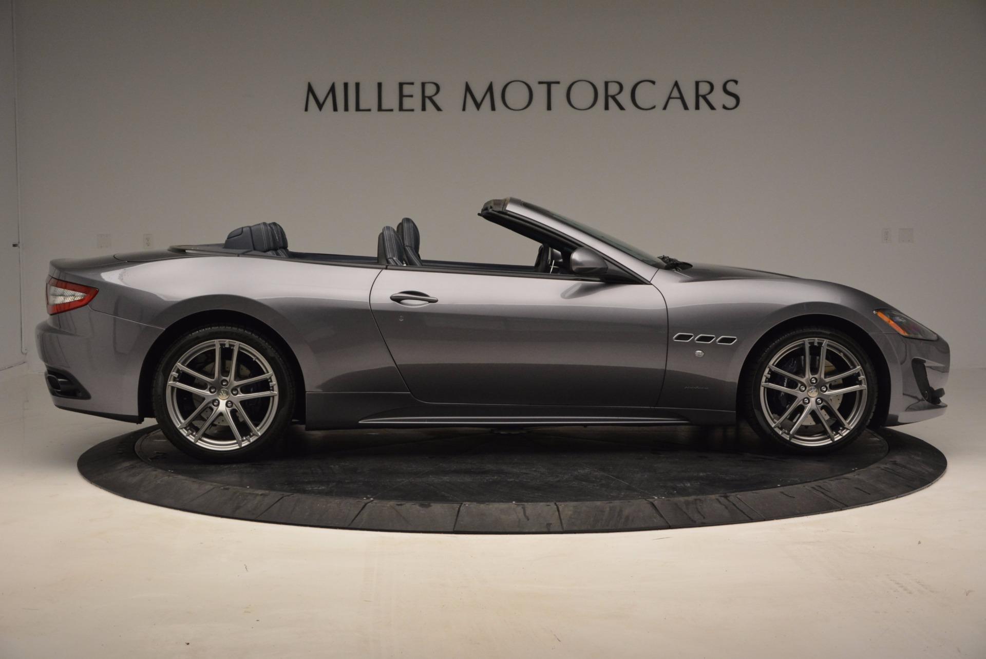 New 2016 Maserati GranTurismo Convertible Sport For Sale In Westport, CT 154_p6